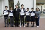 Highlight for Album: 08 - 03 - 11 早會頒獎-全港青少年競技迎奧運