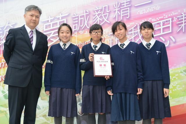 第七屆香江盃藝術節歌唱比賽初中合唱組銀獎2