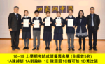 Highlight for Album: 2018 -2019 Students with outstanding performance in First Term Examination 上學期考試成績優異名單