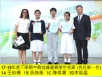 Highlight for Album: Students with outstanding performance in mid-term attainment 下學期初中中期成績優異名單